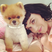 Image 2: Katy Perry and dog