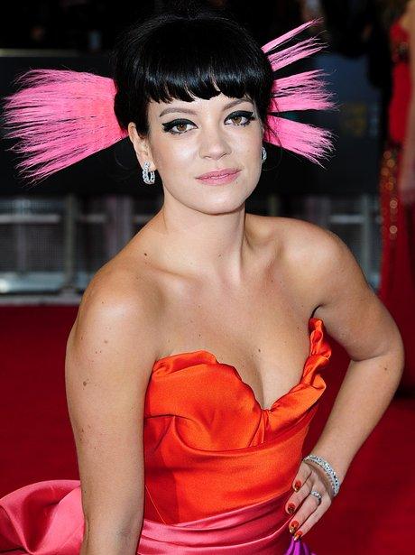 BAFTAs red carpet 2014