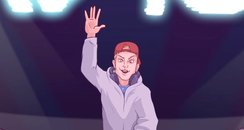 Avicii Cartoon Wake Me Up Video