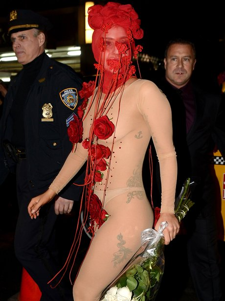 Lady Gaga Arrives At Roseland Ballroom