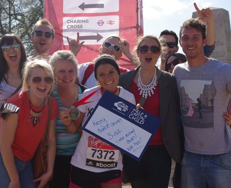 Street Stars at London Marathon