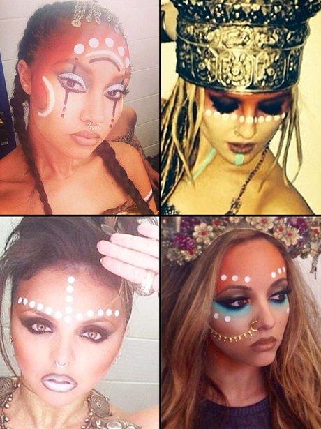 Little Mix Face Paint Instagram