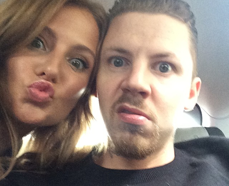 Millie Mackintosh and Professor Green selfie