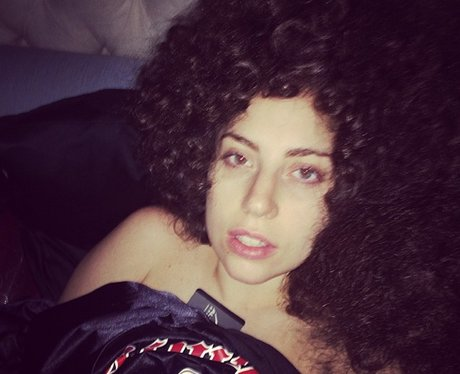 Lady Gaga shows off her new hair 'do which she's dubbed '# ... Lady Gaga Instagram