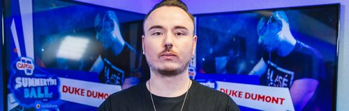 Duke Dumont backstage at the Summertime Ball 2014