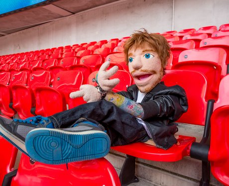 Ed Sheeran puppet In Your Seats