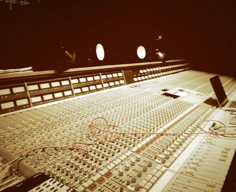 Rihanna Recording Studio Instagram
