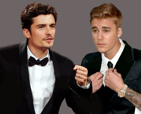Orlando Bloom and Justin Bieber Fight