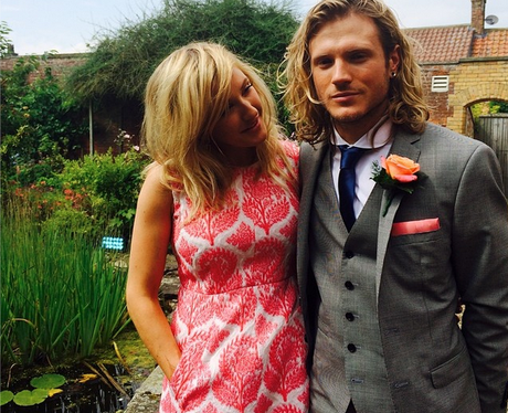 Ellie Goulding and boyfriend Dougie Poynter attend