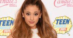 Ariana Grande arrives at the Teen Choice Awards 20