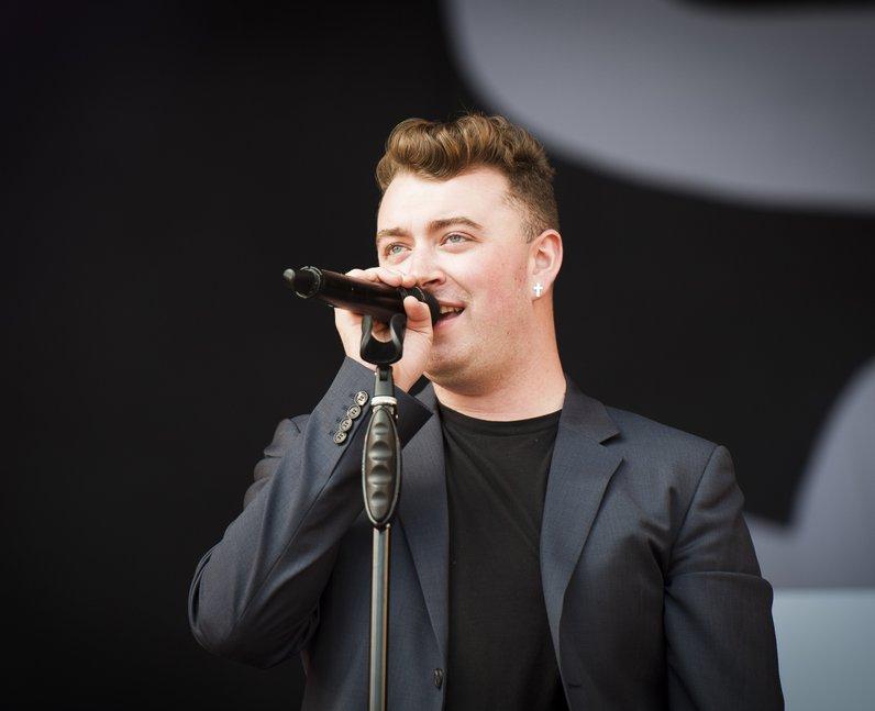 Sam Smith V Festival 2014