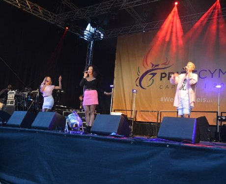 Stooshe at Pride Cymru