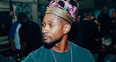 Usher with a crown