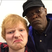 Image 2: Ed Sheeran and Samuel L Jackson