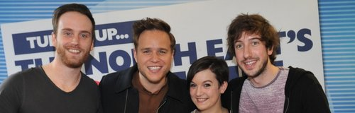Olly Murs with Bodg, Matt and JoJo