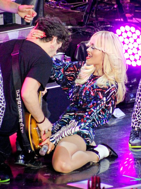 Rita Ora performs at a private performance