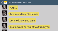 Text Me Merry Christmas song video