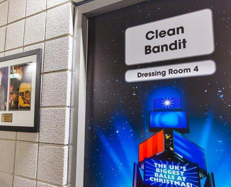Clean Bandit Dressing Room Backstage Jingle Bell B