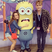 Danny Wilkin is also not afraid of taking his lady to silly places - we like your Minion pal!