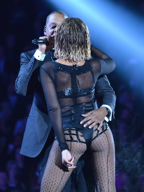 Beyonce and Jay Z Grammy Awards 2014