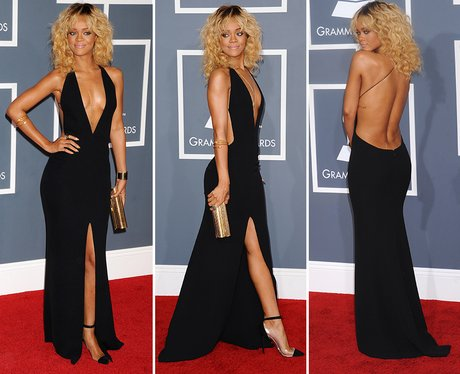 Grammys Awards: Most Memorable Red Carpet Moments- rihanna