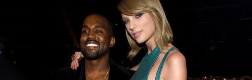 Taylor Swift Kanye West Grammys 2015
