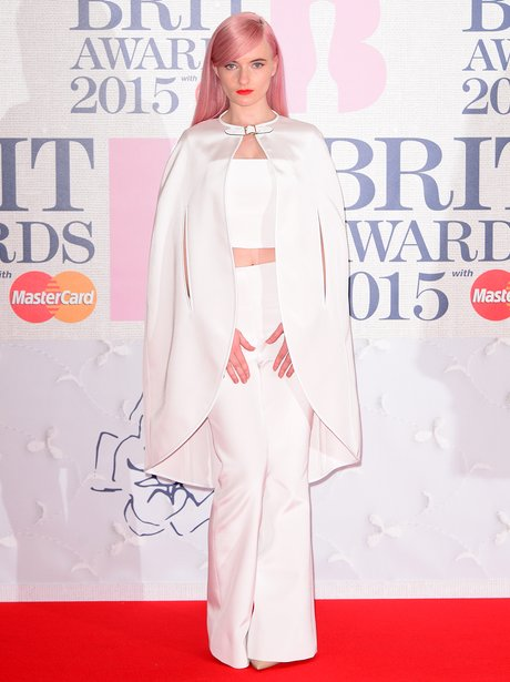 Grace Chato BRIT Awards 2015 Red Carpet