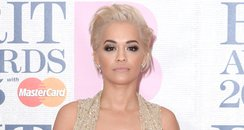 Rita Ora BRIT Awards 2015 Red Carpet 2015