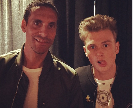 Tristan The Vamps and Rio Ferdinand