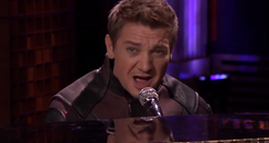 Jeremy Renner Covering Ed Sheeran