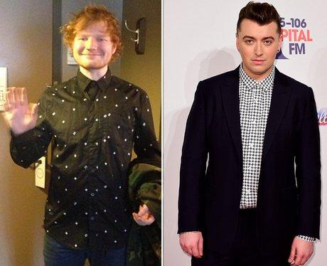 Fashion Face Off: Sam Smith V. Ed Sheeran