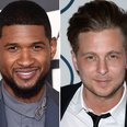 Usher and Ryan Tedder