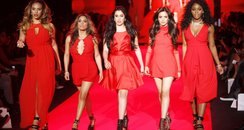 Fifth harmony on the runway