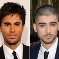Enrique and Zayn Malik