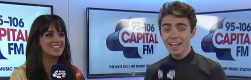 Nathan Sykes and Max on Capital