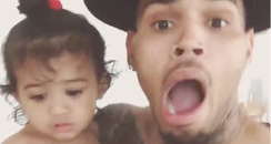 Chris Brown and Royalty instagram