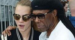 Cara Delevingne and Nile Rogers