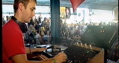 David Guetta Throwback Ibiza Djing video