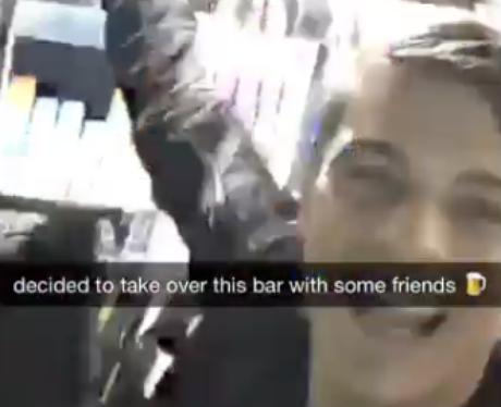 Martin Garrix Snapchat video