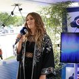 Ella Henderson backstage at Fusion Festival