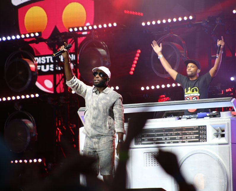 Tinie Tempah live at Fusion Festival 2015