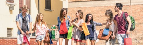 Students Shopping