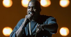 Kanye West at the 2015 iHeartRadio Music Festival