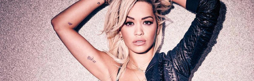 Rita Ora in her underwear