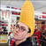 Image 4: Sam Smith with a corn on the cob on his head