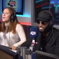 Tinie Tempah and Katy B In The Capital Studio