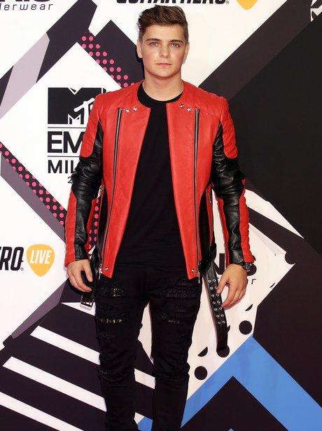 Martin Garrix MTV EMA's 2015 Red Carpet