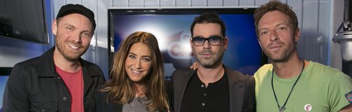 Coldplay with Dave Berry & Lisa Snowdon