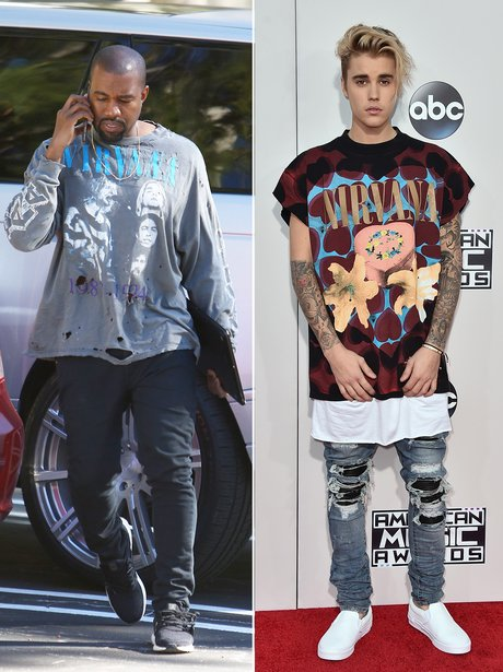 Kanye West and Justin Bieber Fashion Face Off