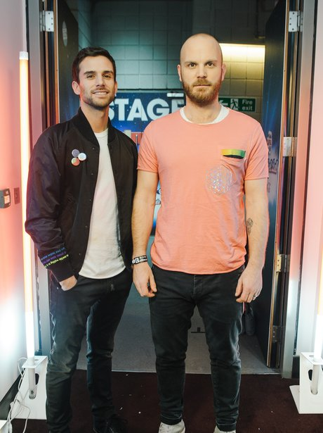 Coldplay Backstage Jingle Bell Ball 2015
